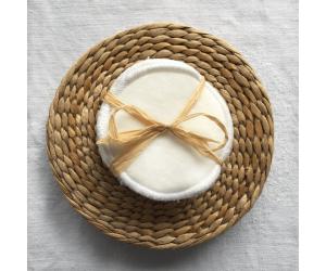 Lot de 5 disques lavables en coton blanc de Hissala - Lifestyle