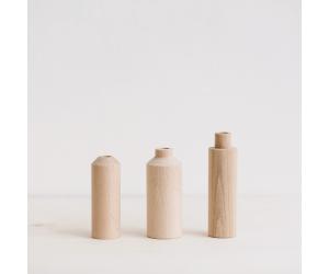 Soliflore en bois an°so design face