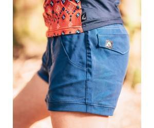 Short en bois court Bleu (Femme) par So Ride wear