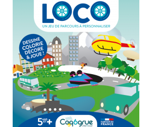Plateau créatif - Loco - Coq6grue