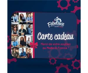 """Carte Cadeau """"Plaisir d'offrir"""" Made in France"""