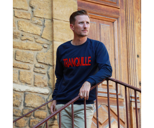 Le Tranquille, Sweat homme...