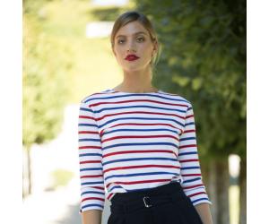 Marinière tricolore femme par Le Chic Français