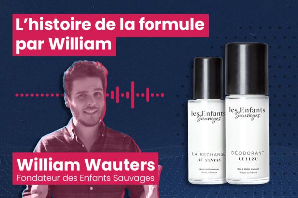William Wauters les enfants sauvages déodorant bio
